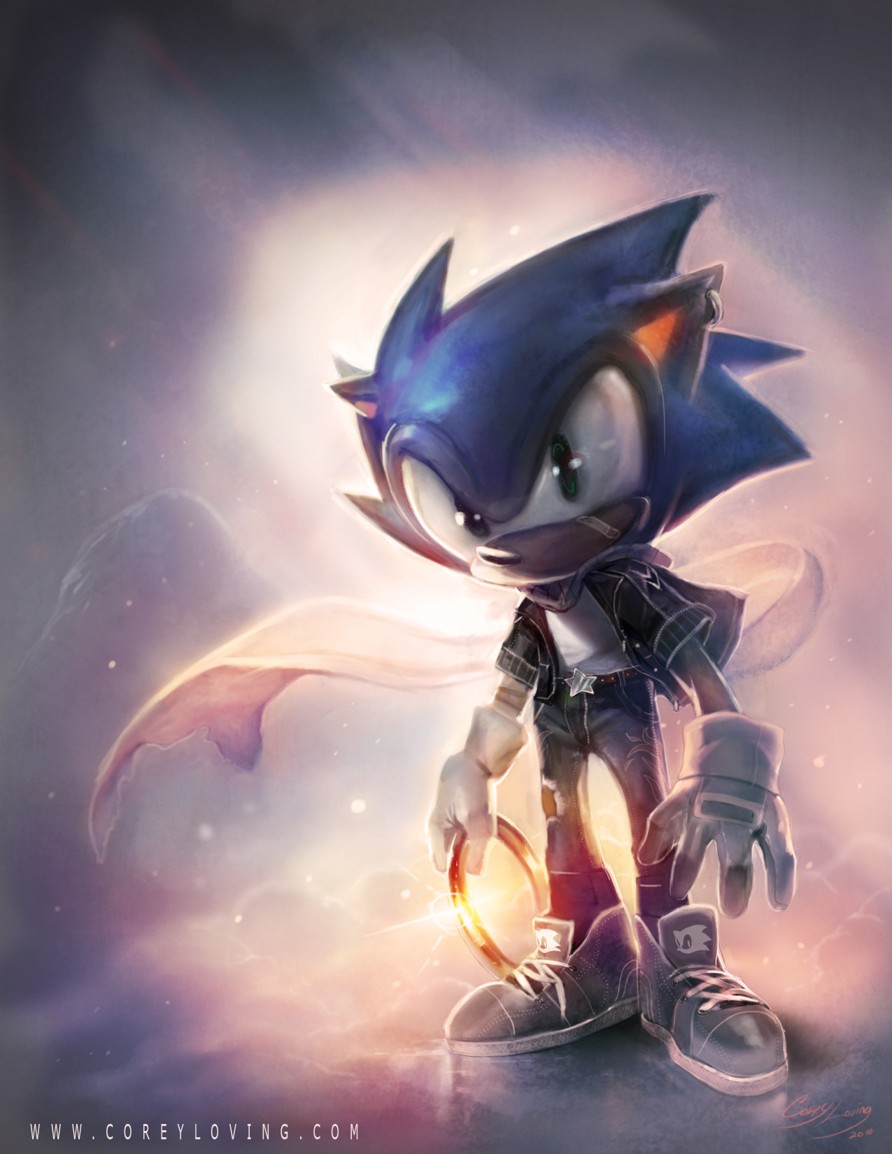 Sonic by Corey Loving